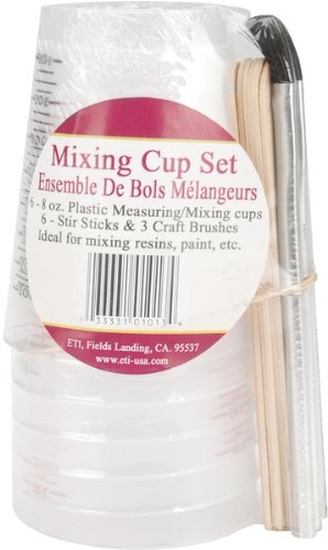 WMU 662083 8 Ounces Mixing Cup Set - 6 Package