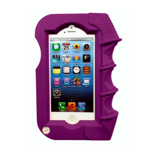 Special Sale Shockcase Purple Pistol Grip iPhone 5 Case