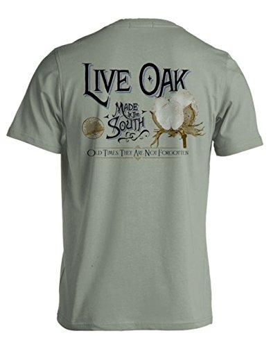 Live Oak Apparel - Cotton Boll - Comfort Colors - Medium - T-Shirt front-32990