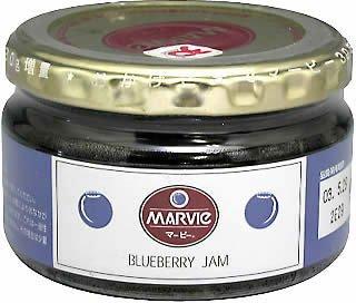 マービー ブルーベリージャム 瓶詰 230g