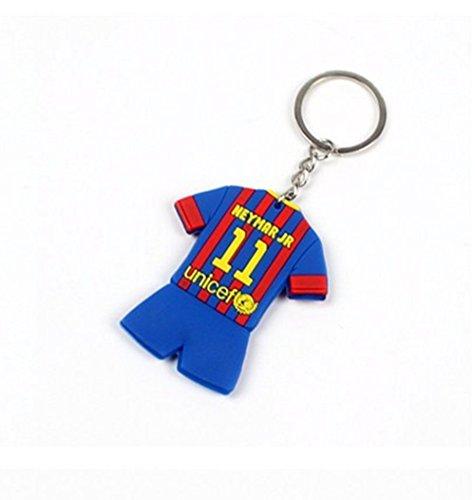 Barcelona Fc Soccer/Football Club Neymar Keyring Keychain