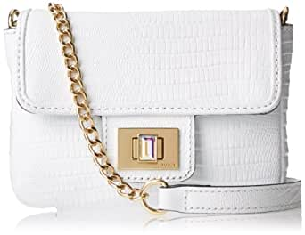 Juicy Couture Mini G Sierra Sorbet Leather Cross-Body Bag,White,One Size