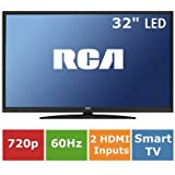 "RCA 32"" 720p 60Hz LED HDTV/DVD Combo with ROKU Streaming LRK32G30RQD"