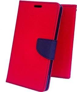 Generic Nokia Lumia 1520 Pink Flip Cover