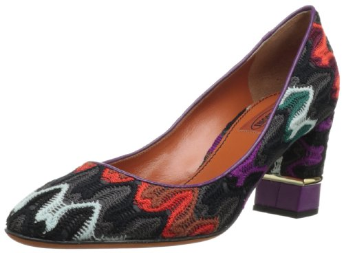Missoni Women's Raschel Multicolour Heels 5 UK