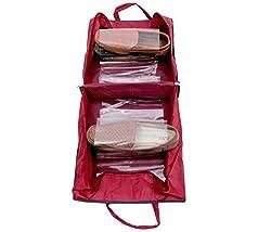 Shoe Bag With Six Transparent Partition