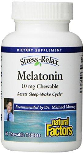 Natural Factors Stress-Relax mélatonine Tablet,
