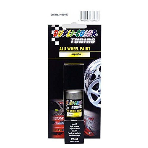 duplicolor 665653 tuning stylo de retouche peinture alu wheel paint argento 12 ml. Black Bedroom Furniture Sets. Home Design Ideas