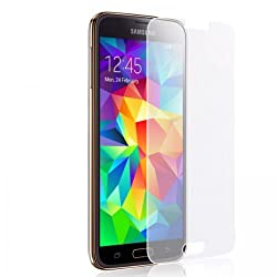 CNP TEMPERED GLASS SHATTER PROOF SCRATCH GUARD PROTECTOR FOR SAMSUNG GALAXY S-5