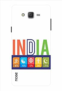 Noise Secular India White Printed Cover for Samsung Galaxy J5