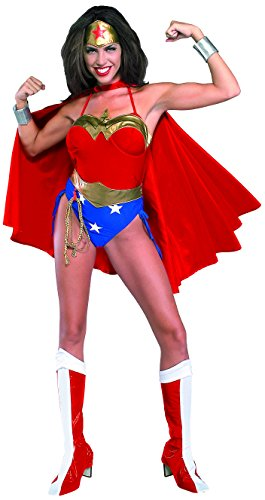 Rubie's Official Wonder Woman Adult Costume with Cape, S, M, L
