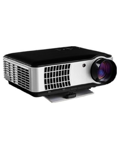 Beyondtek® Rd-806 Hd 3D Digital Lcd Led Video Projector Home Theater Video Games Gaming Business Presentations 1080P With Hdmi/Usb/Av/Vga/Component 1280X800 Resolution 1500:1 2800 Lumens