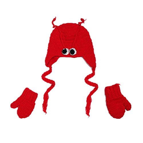 Baby Unisex Newborn Boy Girl Outfits Photography Props Lobster Suit