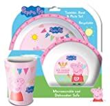 Peppa Pig Tea Party Lunch Bag and Bottle Set (HJ167CE)