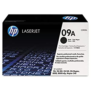NEW Hewlett Packard OEM Toner Cartridge C3909A (1 Cartridge) (Mono Laser Supplies)
