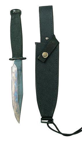 Rothco Vietnam MAC-SOG Combat Knife, Black, O/S