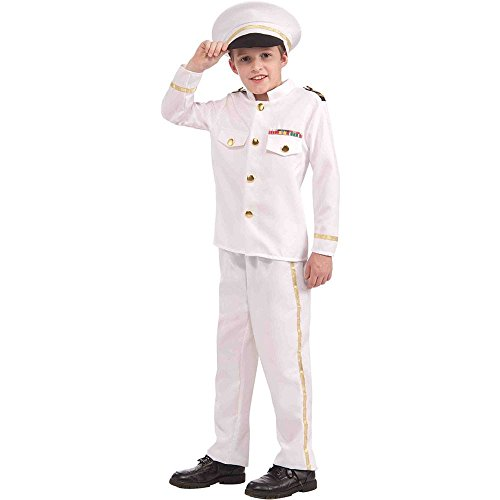 Navy Admiral Kids Costume