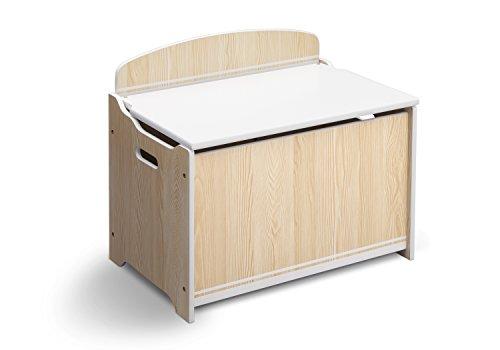 delta-tb84594gn-baule-porta-giochiper-bambini-de-luxe-in-legno-mdf-con-schienale-beige-bianco