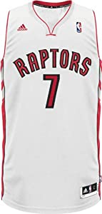NBA Toronto Raptors Andrea Bargnani Youth 8-20 Swingman Home Jersey by adidas