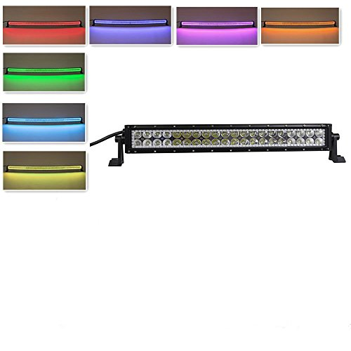 Nicolight-52Inch-300W-50Inch-288w-42Inch-240w-32Inch-180w-22Inch-120w-12Inch-72w-Straight-Leds-work-light-bar-with-RGB-halo-Ring-light-strip-kit-Combo-Bean-Fog-Driving-Jeep-Wrangler-4WD-4x4-offroad-Fr