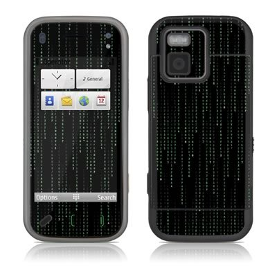 Matrix Style Code Design Protector Decal Skin Sticker for Nokia N97 Mini Cell Phone