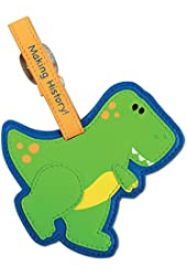 toys Luggage Dinosaur Tags