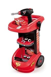 Amazon.com: Smoby - 500188 - Jeu d'imitation - Cars - Chariot WGP + Mc