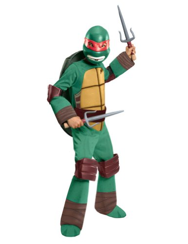 Tmnt Raphael Deluxe Child Costume Md Kids Boys Costume