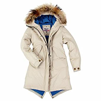 blauer usa damen daunenmantel parka daunen mantel jacke winter jacke daunenparka mit echt fell. Black Bedroom Furniture Sets. Home Design Ideas