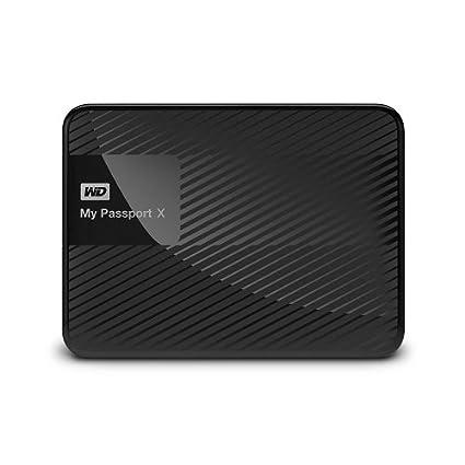 WD My Passport X (WDBCRM0020BBK) USB 3.0 2TB External Hard Disk