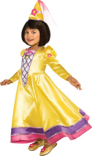 Rubies Dora The Explorer Magic Fairy Princess Child Costume, Toddler front-1028859