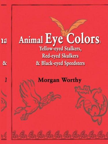 Animaux yeux couleurs : Antipode harceleurs, Viréo aux yeux rouges Skulkers&Black-Eyed bolides