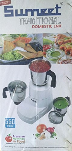Sumeet Traditional Domestic LNX 550W Mixer Grinder