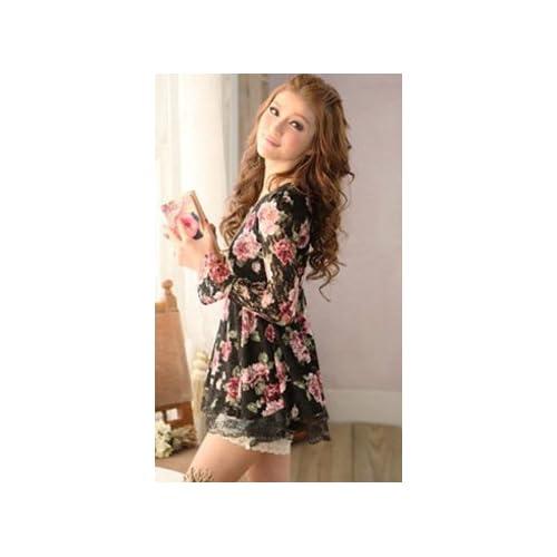 (4013)【Con amore】カジュアル ワンピース チュニック レディース 結婚式 海外セレブ ミニスカート ショートスカート パーティドレス パーティグッズ 大きいサイズ パーティドレス カジュアル フォーマル 海外ファッション (ブラック)