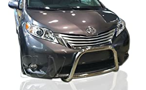 2011-2014 Toyota Sienna Bull Bar Grille Guard Protection Stainless Steel