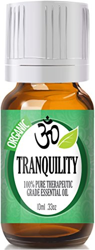 Tranquility 100% Pure, Best Therapeutic Grade Essential Oil - 10ml