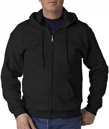 �Gildan Adult Heavy Blend� Full-Zip Hooded Sweatshirt (Black) (2X-Large)