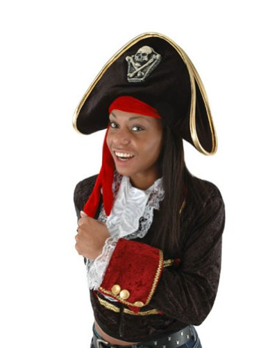 Costume-Hat Hat Pirate Halloween Costume - 1 size