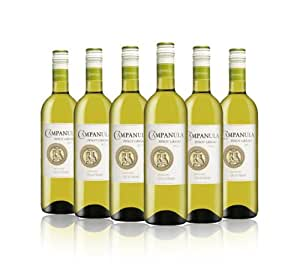 Campanula White Wine Pinot Grigio 2013 75cl (Case of 6)