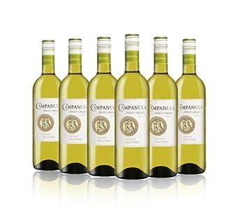 Campanula White Wine Pinot Grigio 2013 75cl (Case of 6)
