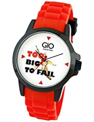 Gio Collection Analog Off-White Dial Men's Watch - GIO-TOO-03