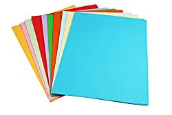 Sinar Premium A4 Color Paper for Photocopy, Art & Craft - 100 Sheets. 10 Colour. 80GSM