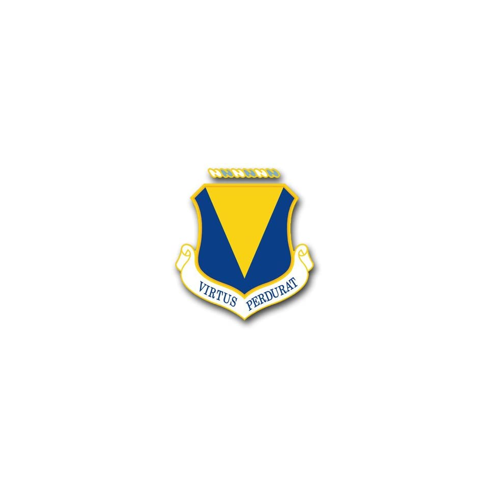 US Air Force 86th Tactical Fighter Wing Decal Sticker 3.8 on