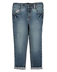 Beebay Denim Trouser With Turnup (G5414216300418_Denim Blue _12Y)