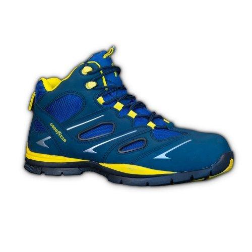 GOODYEAR , Chaussures de sécurité pour homme Bleu blau-grau-gelb