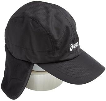 ASICS Unisex Adult Winter Run Cap,Black,Small-Medium