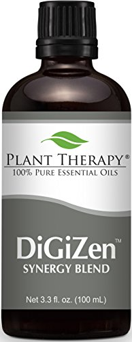 Digest Aid Synergy Essential Oil Blend. 30 ml (1 oz). 100% Pure, Undiluted, Therapeutic Grade. (Blend of: Peppermint, Anise, Ginger, Tarragon, Fennel and Lemongrass)