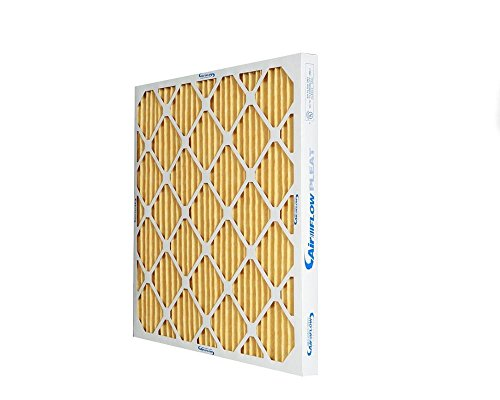 Heating, Cooling 20x20x1 Merv 11 High Rated Pleated Furnace Air Filters. Made in USA (12 pack).