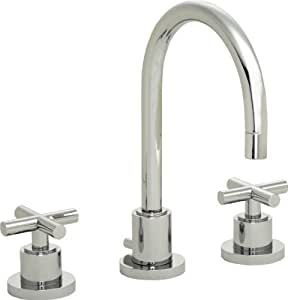 California Faucets 8 Widespread Lavatory Faucet Black Nickel Tiburon Bathroom Sink Faucets