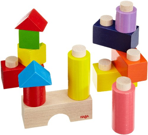 Haba sticky bricks (sticky building blocks)  13 Piece